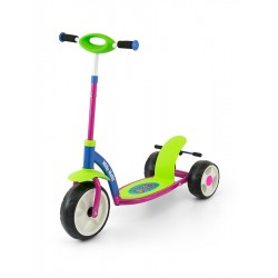 Dětská koloběžka Milly Mally Crazy Scooter multicolor