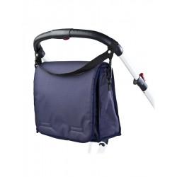 Taška na kočárek s přebalovací podložkou CARETERO navy, Modrá