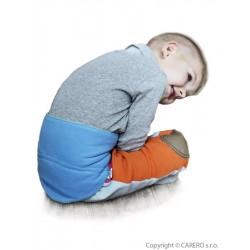 Dětský bederňáček 0-5 let VG antracitovo-modrý, Modrá, 0-5 let
