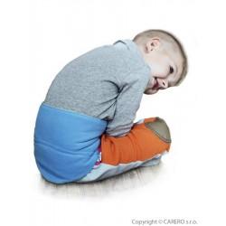 Dětský bederňáček 0-5 let VG modro-limetkový, Modrá, 0-5 let