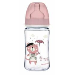 Antikoliková lahvička Canpol Babies Easy Start - Bonjour, 120 ml