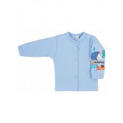 Kojenecký kabátek Bobas Fashion Ježek modrý, Modrá, 68 (4-6m)
