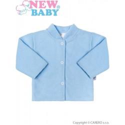 Kojenecký froté kabátek New Baby modrý, Modrá, 74 (6-9m)