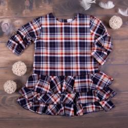 K-Baby Dětské šatičky Kárko - granát