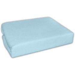 Jersey prostěradlo - Modrý - 120x60