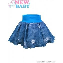 Kojenecká suknička New Baby Light Jeansbaby modrá, Modrá, 74 (6-9m)