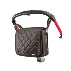 Taška na kočárek CARETERO Carry-on black, Černá