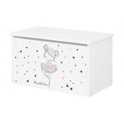 BabyBoo Box na hračky s motivem Baletka