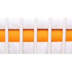 Jersey prostěradlo - oranžová - 120x60