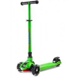 Dětská koloběžka Toyz Carbon green