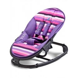 Dětské lehátko CARETERO Boom purple, Fialová