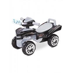 Odrážedlo čtyřkolka Toyz miniRaptor šedé