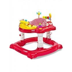 Dětské chodítko Toyz HipHop 3v1 červené, Červená