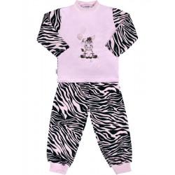 Dětské bavlněné pyžamo New Baby Zebra s balónkem růžové, Růžová, 122 (6-7 let)