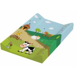 Přebalovací podložka Funny Farm - tvrdá, kravička
