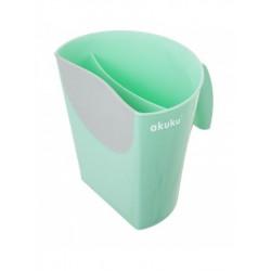 Nádobka na umývání vlasů Akuku mátová, Zelená