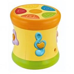 Edukační hrající bubínek BAYO, Žlutá