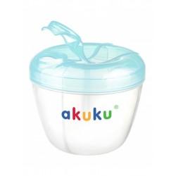 Dávkovač sušeného mléka Akuku modrý, Modrá