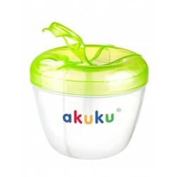 Dávkovač sušeného mléka Akuku zelený, Zelená