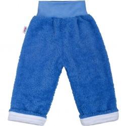 Zimní dětské tepláčky New Baby Ušáček modré, Modrá, 74 (6-9m)