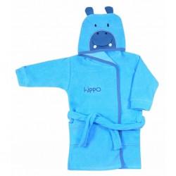 Dětský župan Koala Freak modrý, Modrá, 104 (3-4r)