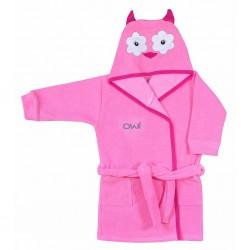 Dětský župan Koala Freak růžový, Růžová, 110 (4-5r)