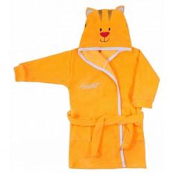 Dětský župan Koala Freak oranžový, Oranžová, 116 (5-6 let)