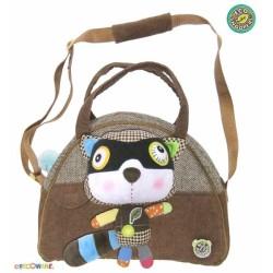 Stylová dětská taška Mýval - hnědý