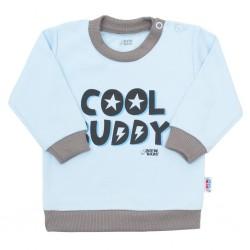 Kojenecké tričko New Baby With Love modré, Modrá, 62 (3-6m)