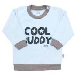 Kojenecké tričko New Baby With Love modré, Modrá, 68 (4-6m)