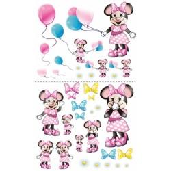 Nástěnná dekorace Myška s balónkem