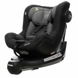 Coto Baby Autosedačka Solario s 360 ° otáčením, ISOFIX systémem, protisměr, 0-18 kg, černý