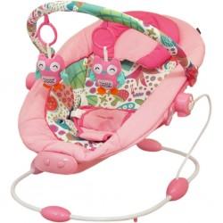 Dětské lehátko Baby Mix dark pink, Růžová