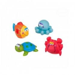 Hračky do vody AKUKU - moře - 4 ks