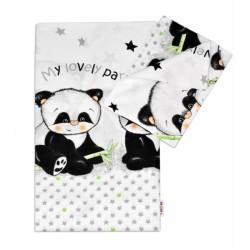 Bavlněné povlečení PANDA Baby Nellys