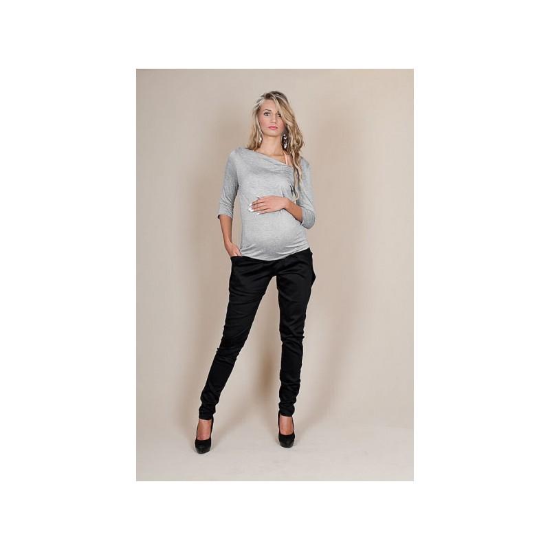Těhotenské kalhoty ALADINKY - Černé bad10c97ad