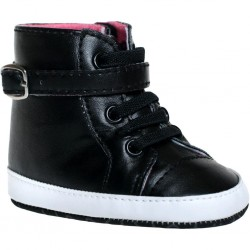 Dětské capáčky Bobo Baby 6-12m černé, Černá, 80 (9-12m)
