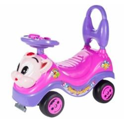 Tulimi Dětské odstrkovadlo, odrážedlo, jezdítko Kočička - růžové