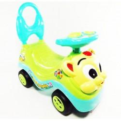 Tulimi Dětské odstrkovadlo, odrážedlo, jezdítko Kočička - zelená