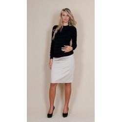 Těhotenské sukně Melanie - béžová