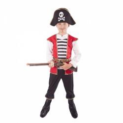 Kostým pirát s kloboukem vel. M