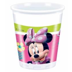 PROCOS kelímky 200 ml Minnie 8 ks