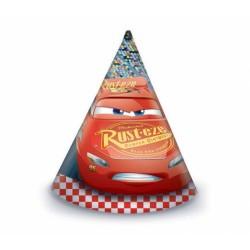 PROCOS klobouk papírový Cars 6 ks