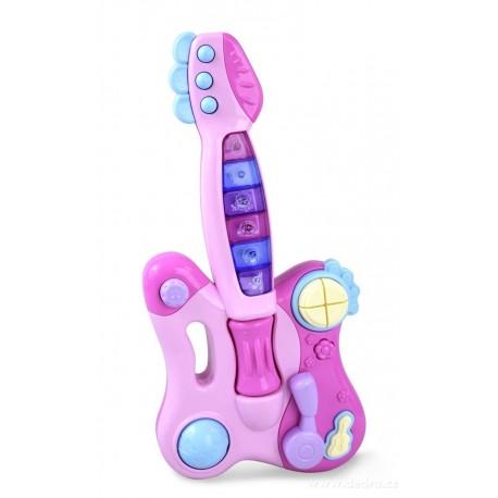 Kytara se světelnými efekty