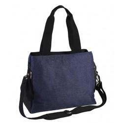 Přebalovací taška ke kočárku SO ACTIVE! - jeans/černá