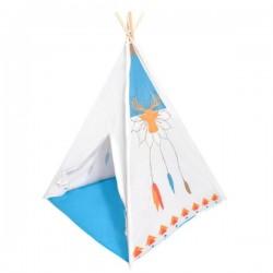 Stan pro děti teepee, týpí - bílý