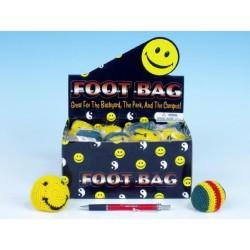 Hakisák míček footbag 6cm v sáčku 24ks v boxu