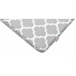 Bavlněné prostěradlo 60x120cm -  Maroko šedé