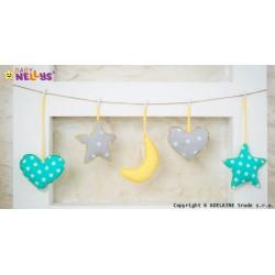 Sada dekorací STARS be LOVE č. 6