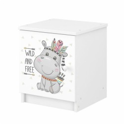 BabyBoo Noční stolek Hippo